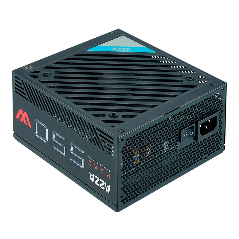 Fuente AZZA PSAZ-550W para PC 550w Reales 80 Plus Bronze 2