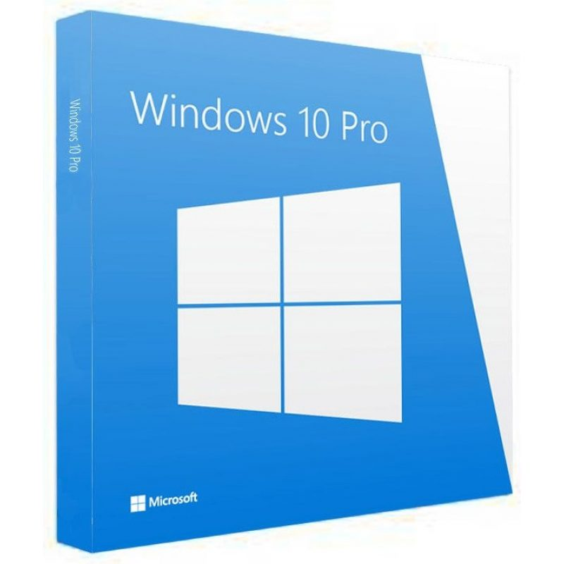 Licencia Microsoft Windows 10 Pro 64 Bits OEM Español DVD 1