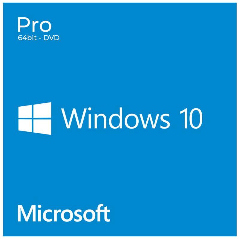 Licencia Microsoft Windows 10 Pro 64 Bits OEM Español DVD 2