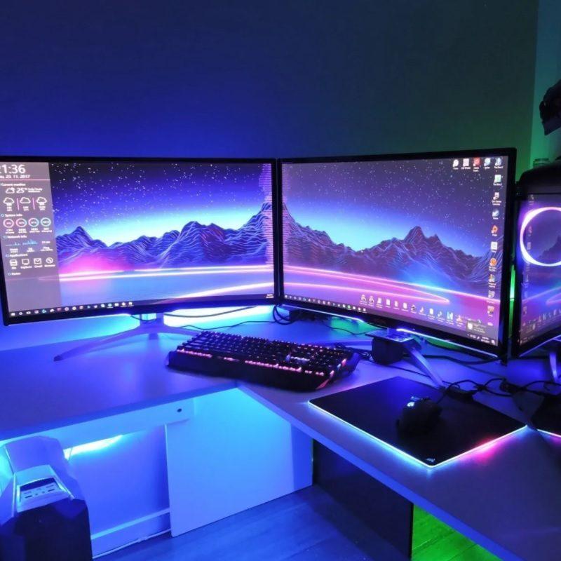 Rollo Cinta de Tiras LED RGB 5 Metros de largo con Transformador y Control remoto (Modelo 5050) 2