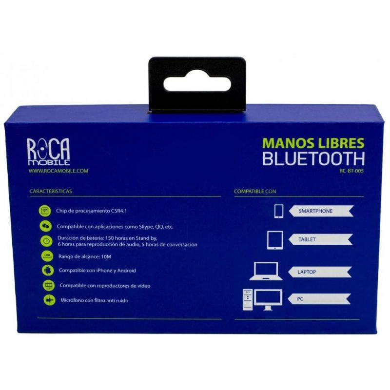 Manos Libres ROCA Bluetooth para Celulares 2